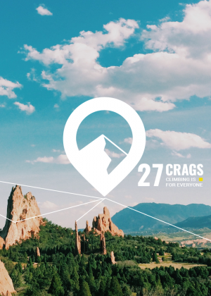 27 Crags // Logo design